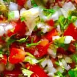 Fresh Cilantro Salsa