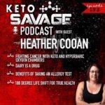 keto savage podcast - heather cooan