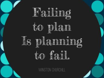 planning for keto: failing to plan is planning to fail quote