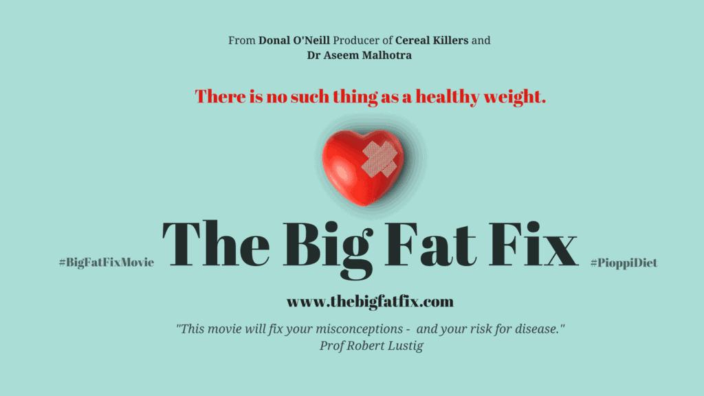 keto documentaries - the big fat fix movie poster