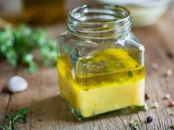 lemon pepper vinaigrette