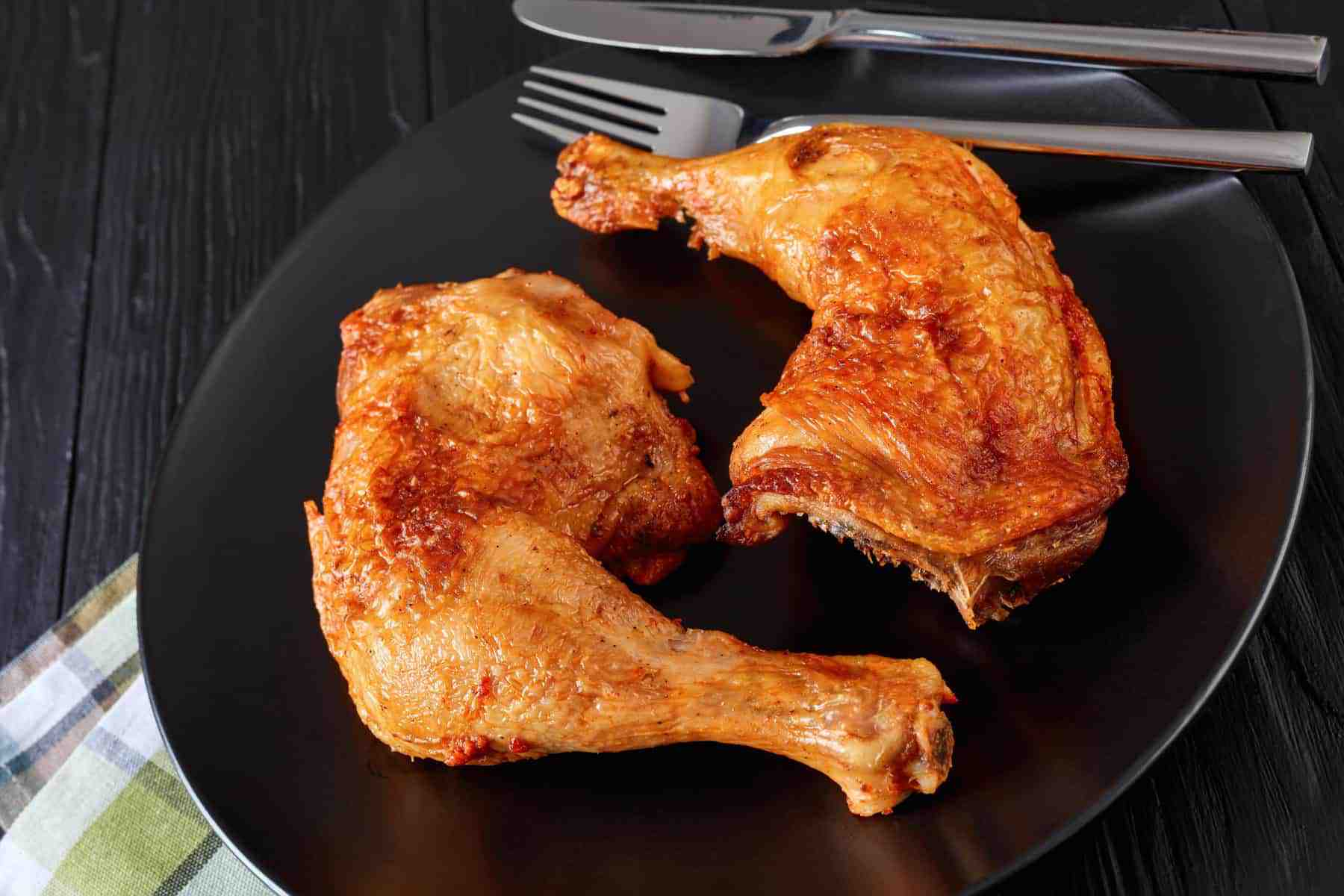 Crispy Chicken Leg Quarters