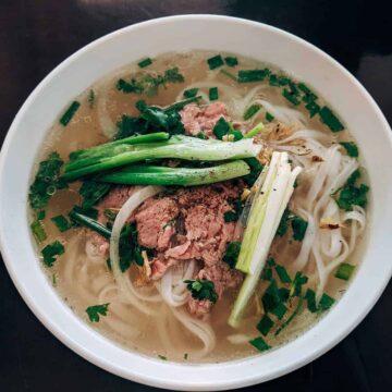 Shiitake Noodle Pho