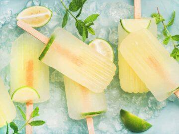Lemon Lime Electrolyte Popsicle