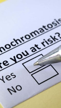 One person is answering question about hemochromatosis.